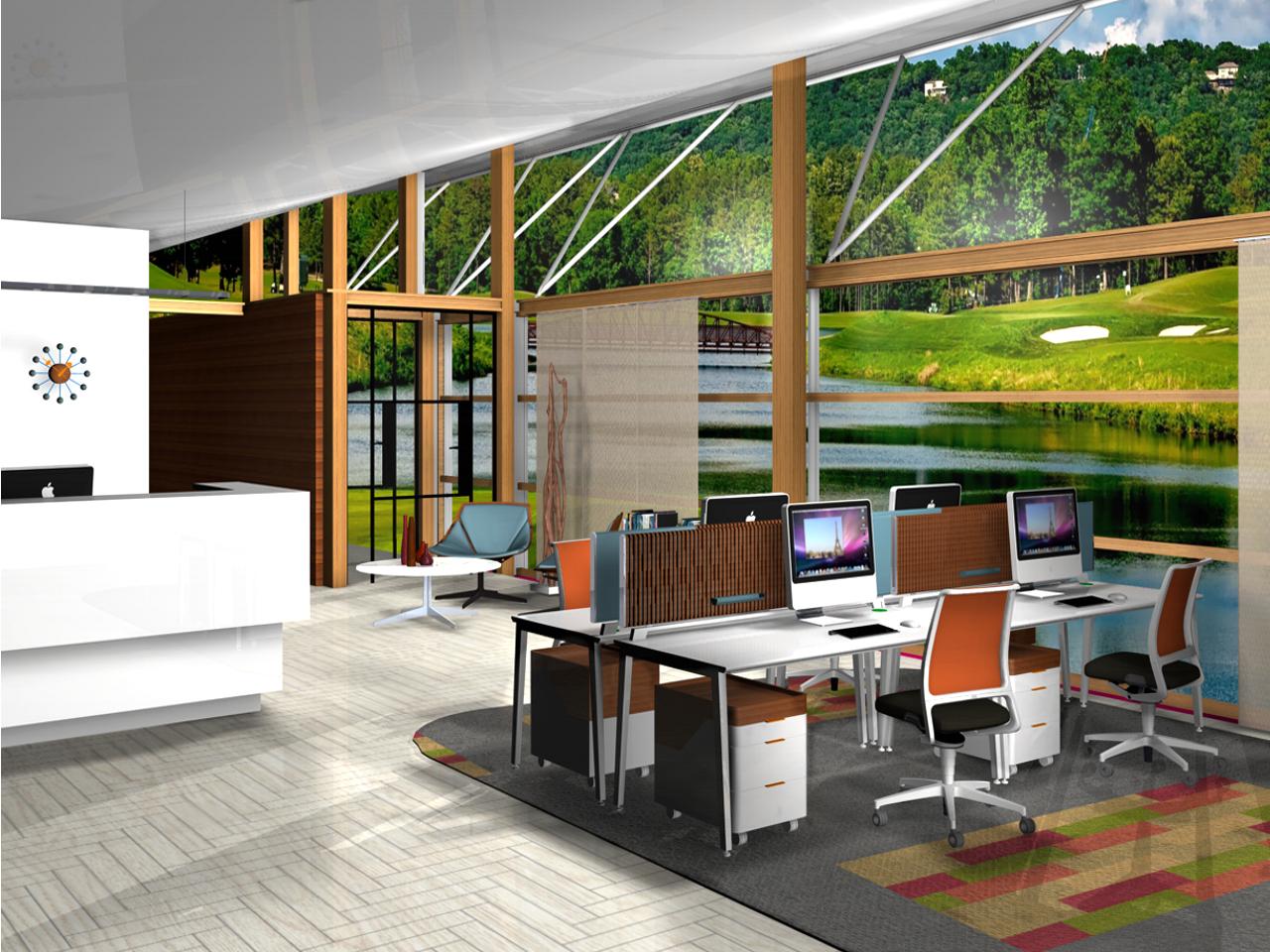Office Desktop Innenarchitekt Michael Schneiderinnenarchitektur